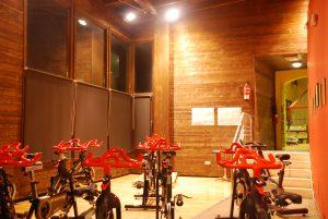 Bicicletas estáticas del centro deportivo