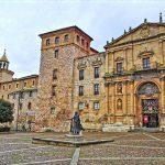 Fachada del Monasterio de San Salvador