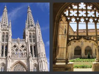 La catedral de Burgos y el monasterio de san Salvador de Oña